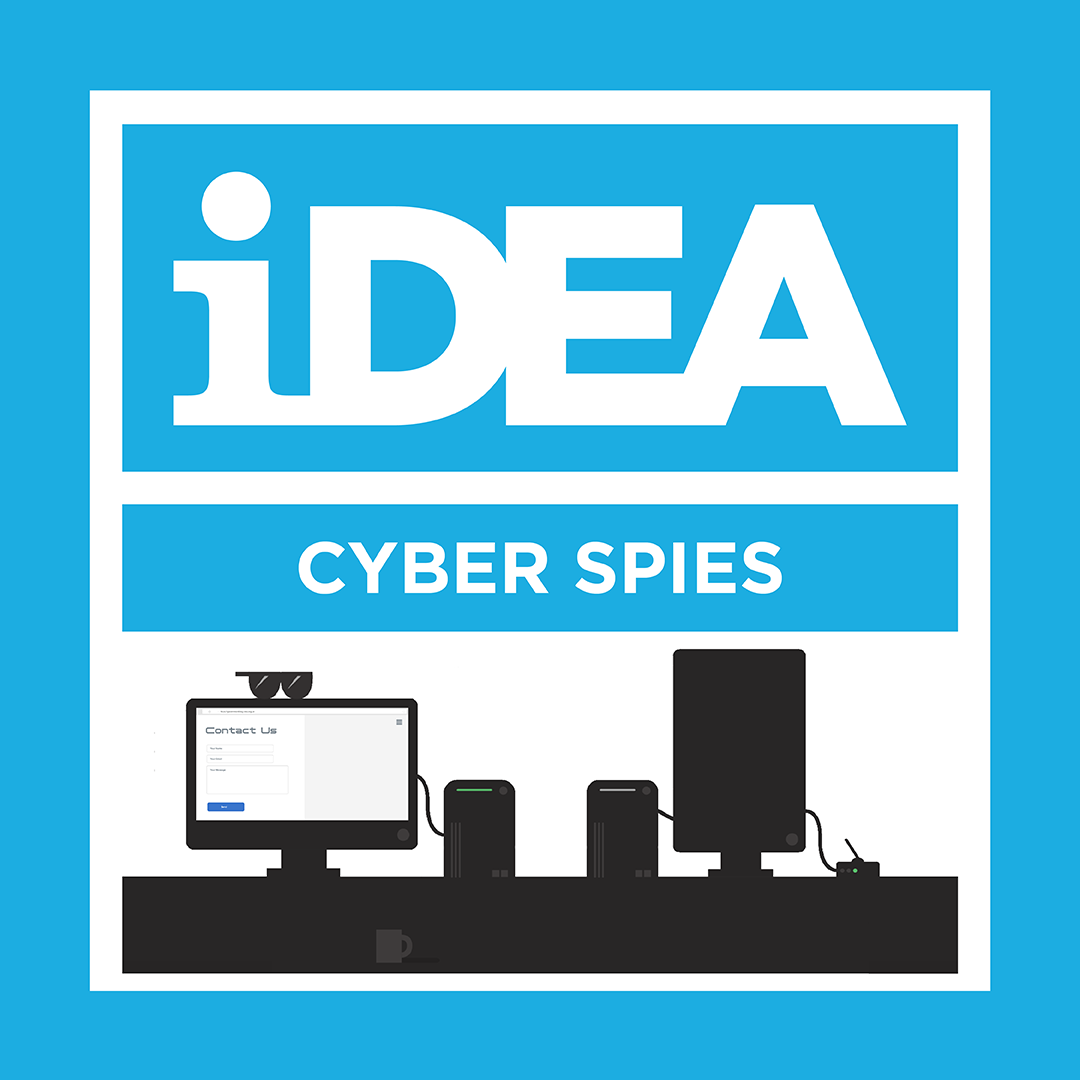 iDEA Badge: Cyber Spies