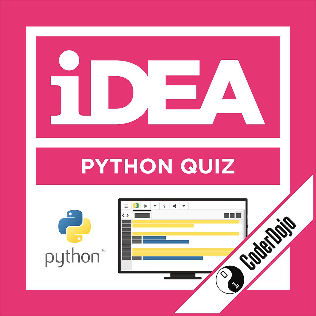 iDEA Badge: Python Quiz
