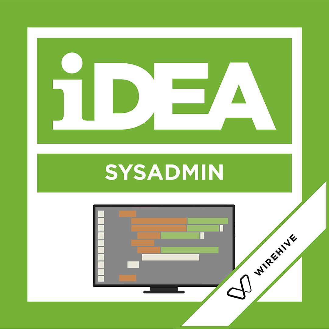 iDEA Badge: SysAdmin