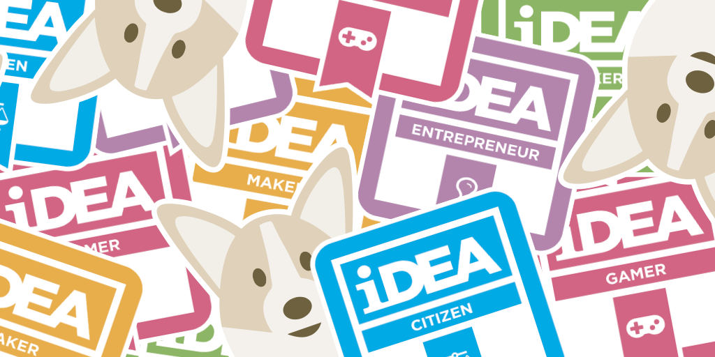 iDEA Stickers Available