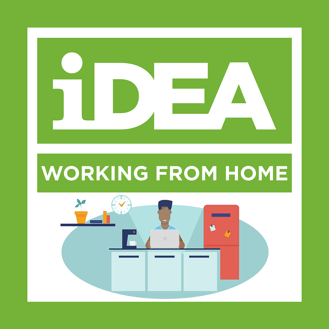 NEW iDEA Badge: Working and Learning from Home